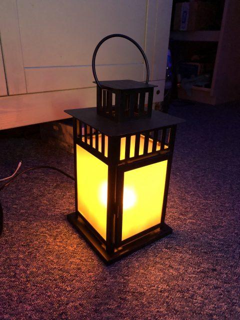 Electric Flickering Gaslight