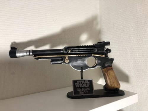 The Mandalorian Blaster 3D printed