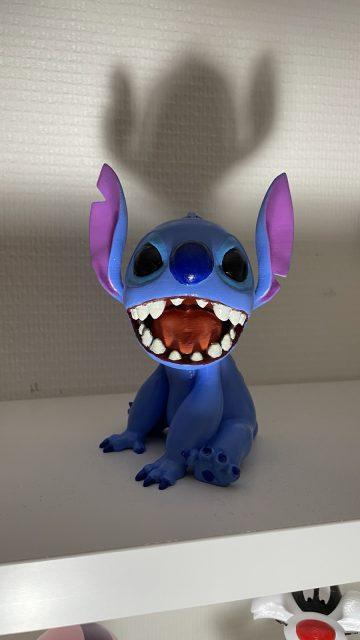 3D printed Stitch (Lilo and Stitch)
