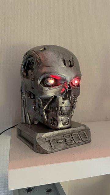 3D printed terminator head T800